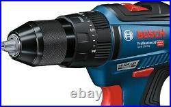 Bosch 18v GSB 18V-55 Brushless Combi Hammer Drill 2 x 4.0ah Procore Batteries