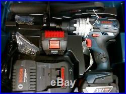 Bosch 18v GSB 18V-85C Robust Series Brushless Combi Hammer Drill Metal Chuck 5ah