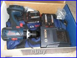 Bosch 18v Hammer Drill kit HDS183-02 complete with batteries and charger