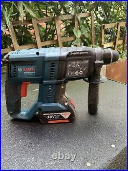 Bosch 18v sds hammer drill