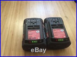 Bosch 36V Hammer Drill. 36 Volt Drill/ Driver Plus 2 Fat Pack Batteries