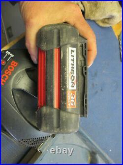 Bosch 36 Volt 1/2 Brute Tough Hammer Drill Kit Good Shape
