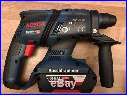 @@ Bosch 36v SDS Hammer Drill GBH36VF-LI Plus 2 x 2.0Ah Li-Ion Batteries case @@