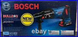Bosch Bulldog Core18V 1 SDS-Plus Cordless Rotary Hammer Drill (GBH18V-26DK15)