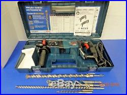 Bosch Bulldog Extreme 11255VSR 1 SDS-Plus Rotary Hammer Drill with Bits & Case