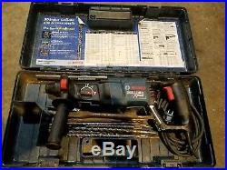 Bosch Bulldog Extreme Rotary Hammer Drill & Alot Of Extra Bits