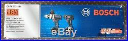 Bosch CLPK222-181 18V 2 Tool Combo Kit 1/2 Hammer Drill 1/4 Hex Driver NEW