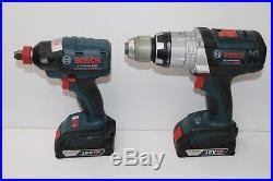 Bosch CLPK224-181 18V Cordless Combo Hammer/Drill and Impact Driver