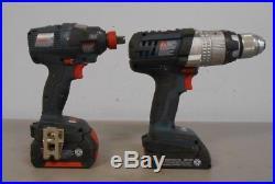 Bosch CLPK224-181 18V HDH181X Hammer Drill & IDH182 Impact Driver- Combo Kit