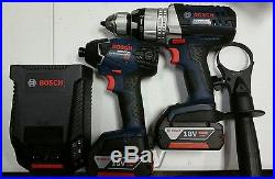 Bosch CLPK224-181 18V Li-Ion 4.0 Ah Hammer Drill/Impact Driver Combo Kit
