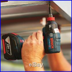 Bosch CLPK251-181 18-Volt 4.0Ah 2-Tool Impact Driver and Hammer Drill Combo Kit