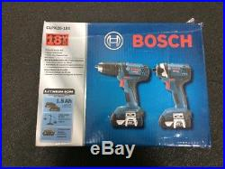 Bosch CLPK26-181 18V Cordless Li-Ion Hammer Drill/Impact Driver Combo
