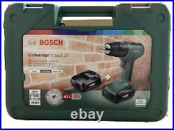 Bosch Cordless Hammer Drill UniversalImpact 18 (2x Batteries, in Carrying Case)