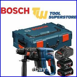 Bosch GBH18V-20-2X4AH 18v SDS Rotary Hammer Drill 2 x 4.0Ah Batteries Li-ion