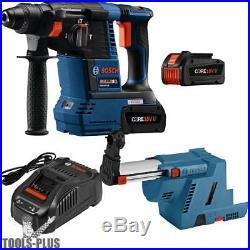 Bosch GBH18V-26K24 18V 1 SDS-Plus Rot Hammer Kit withBatts and Dust Ext New