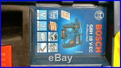 Bosch GBH18V-EC 18v Li-ion SDS Plus Rotary Hammer Drill 1 x 5.0Ah + charger