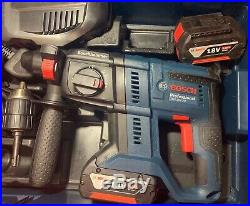 Bosch GBH18-20V PLUS v SDS Rotary Hammer Drill 2 x 4.0Ah