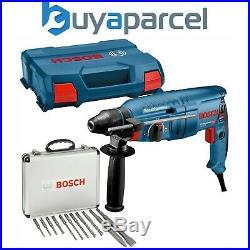 Bosch GBH2-25D 110v SDS Plus Rotary Hammer Drill 790w GBH225D + 11 Piece SDS Set