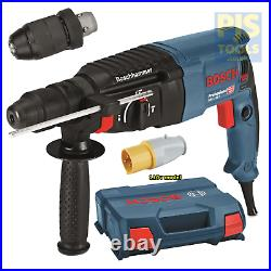 Bosch GBH2-26F 110v 2kg 830w sds + roto hammer drill 3 year warranty option