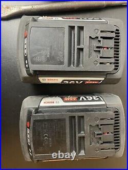 Bosch GBH36VF-LI PLUS 36v SDS Rotary Hammer Drill 2 x 4.0Ah Li-Ion Batteries