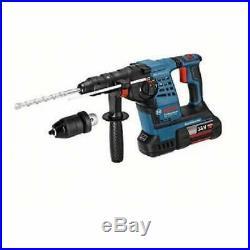 Bosch GBH36 VFLIP3 36v Sds Hammer Drill Plus Rotary Hammer 3 x 4.0Ah Batteries
