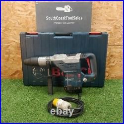 Bosch GBH5-40 DCE SDS Max Rotary Combi Hammer Drill 110v. GWO. FREE P&P'2701
