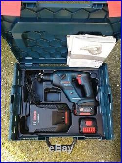 Bosch GBH 14.4V Li Compact Cordless SDS hammer Drill Kit 3.0Ah Batteries Charger
