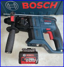 Bosch GBH 18V-20 Cordless SDS Hammer Drill + 4.0ah battery And Charger Case