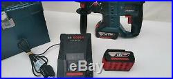 Bosch GBH 18V-20 Professional Cordless SDS Hammer Drill 2 x 4.0ah Batteries