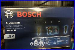 Bosch GBH 18V-20 SDS+ Rotary Hammer Drill Bare Unit New&sealed