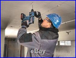Bosch GBH 18V-EC 18V Li-ion SDS Plus Rotary Hammer Drill (2 x 4.0Ah) in L-Boxx