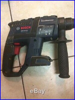 Bosch GBH 18V -Li hammer cordless sds drill good condition-body only good Condi