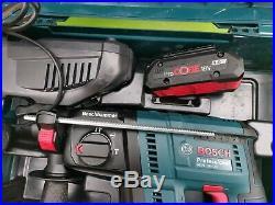 Bosch GBH 18-V20 18V SDS Plus 3kg Hammer Drill 2 x 4.0Ah Pro Core BATTERY