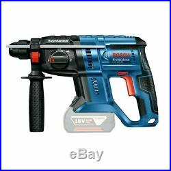 Bosch GBH 18 V-20 SDS + Cordless Rotary Hammer drill + Free B-47444 Drill Bit