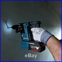 Bosch GBH 18 V-26 SDS+ Brushless Hammer Drill 2 x 5.0Ah + L-BAG 0611909073
