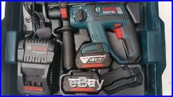 Bosch GBH 18 V-EC 18v SDS Plus Brushless Rotary Hammer Drill 2x5.0ah