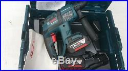 Bosch GBH 18 V-EC Brushless SDS HAMMER DRILL 18V in L-Boxx 2X4.0AH