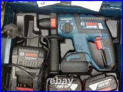 Bosch GBH 18 V-EC Cordless Rotary Hammer Drill full kit