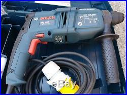 Bosch GBH 2000 SDS+ hammer Drill/Chisel, breaker, kango, 110V corded, case
