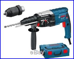 Bosch GBH 228 F1 880w SDS-Plus Hammer drill Quick Change Chuck in L-Boxx 110v