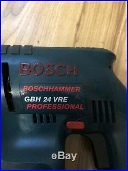 Bosch GBH 24VRE SDS Cordless hammer drill Pro in case w. 24V Battery & Charger