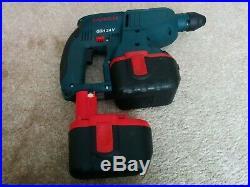 Bosch GBH 24V volt Cordless Hammer Drill SDS Plus 2x Heavy Duty Batteries