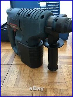 Bosch GBH 24 VRE 24V Cordless SDS hammer Drill, 3Ah Battery, Chucks, 10 New Bits
