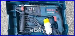 Bosch GBH 2-26 DRE SDS+ hammer Drill/Chisel, breaker, kango, 110V corded, case