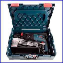 Bosch GBH 2-28 F 2kg SDS+ Rotary Hammer Drill + Quick Change Chuck L-Boxx 110V