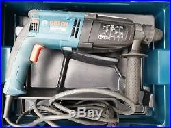 Bosch GBH 2-28 SDS+ hammer Drill/Chisel, breaker, kango, 230V corded, case