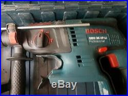 Bosch GBH 36VF-Li 36V Cordless SDS hammer Drill/Chisel Kit, 2 x 2.6Ah battery