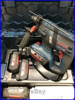 Bosch GBH 36V-EC Compact 36V SDS Plus Rotary Cordless Hammer Drill C/W 4 X Batt