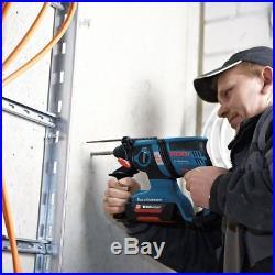 Bosch GBH 36V EC Compact Brushless 36V SDS Plus Rotary Hammer Drill (3 x 2.0ah)