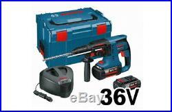 Bosch GBH 36V-LI Cordless SDS Hammer Drill 2x4.0Ah 367x221mm 10lb SDS-Plus UPS